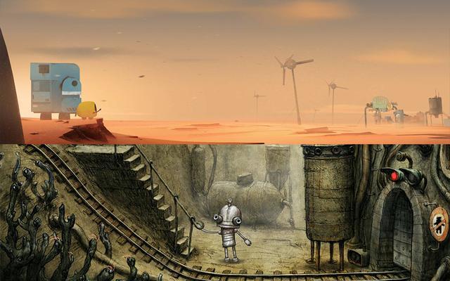 《艾彼(Abi)》:周游第三期:废土游戏哪家强?机械迷城艾彼娘!