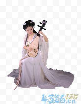 弹琵琶图片?求动漫反弹琵琶的图片例如 这样的