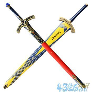 在FATE中的誓约胜利之剑和石中剑分别属于单手剑(...?关于saber的剑