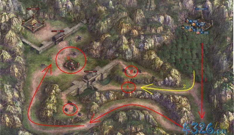 那位大侠有三国的作战地图?企业作战地图与行动战略的区别