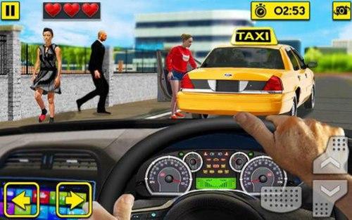 城市出租车驾驶游戏无限金币版